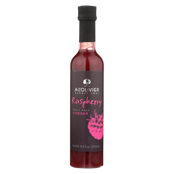 A L'Olivier Vinegar - Raspberry Fruit - Case of 6 - 8.4 oz