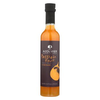 A L'Olivier Vinegar - Passion Fruit - Case of 6 - 8.4 oz