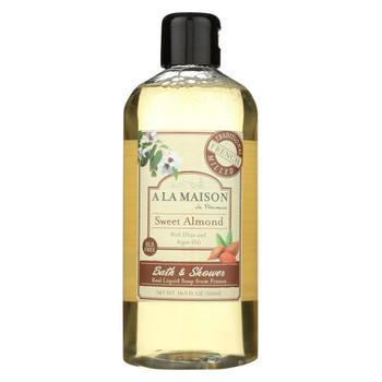 A La Maison Body Wash - Sweet Almond - 16.9 fl oz.