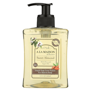 A La Maison Body Wash - Sweet Almond - 10 fl oz.