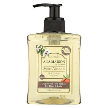 A La Maison Body Wash - Sweet Almond - 10 fl oz.