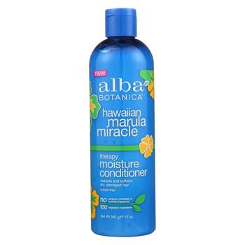 Alba Botanica Hawaiian Conditioner - Marula Miracle - 12 fl oz