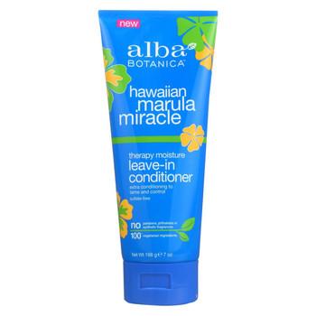 Alba Botanica Hawaiian Conditioner - Marula Leave in - 7 fl oz