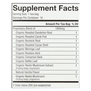Choice Organic Teas Organic Wellness Tea - Reishi Detox - Case of 6 - 16 BAG