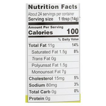 Chosen Foods Avocado Oil Mayo - Wasabi - Case of 6 - 12 fl oz