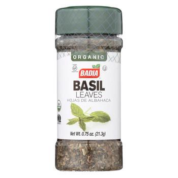 Badia Spices - Basil Leaves - Case of 12-.75