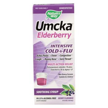 Nature's Way - Umcka Cold - Flu - Intensive - 4 oz