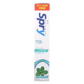 Spry Toothpaste - Wintergreen - 5 oz