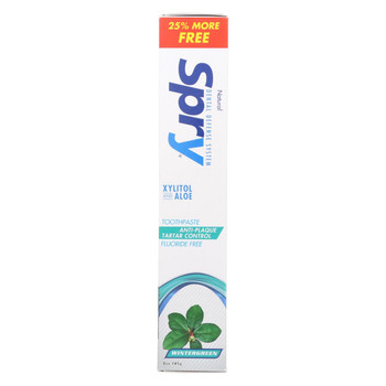 Spry Toothpaste - Wintergreen - 5 oz