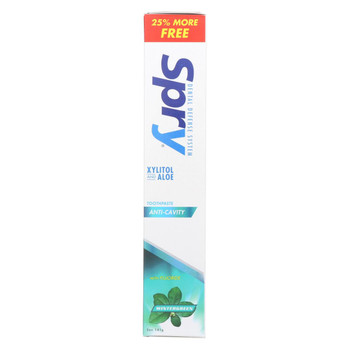 Spry Toothpaste - Wintergreen - Flouirde - 5 oz