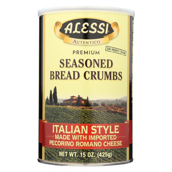 Alessi Italian Style Made With Imported Pecorino Romano Cheese - Case Of 6 - 15 Oz