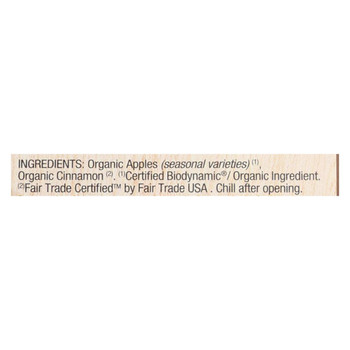 Natural Nectar Brittany Apple Sauces - Case of 6 - 22.2 oz.