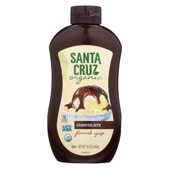 Santa Cruz Organic Syrup - Organic - Chocolate - Case of 6 - 15.5 fl oz