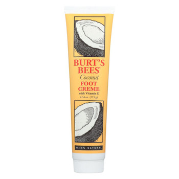 Burts Bees - Foot Cr?me - Coconut - 4.3 oz