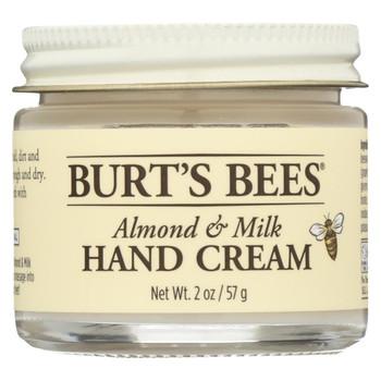 Burts Bees Hand Cream - Almond & Milk - 2 oz