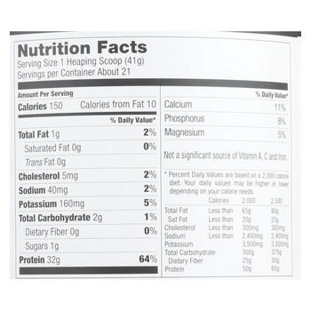 Designer Whey - Protein Powder - Vanilla Milkshake - 1.85 Lb