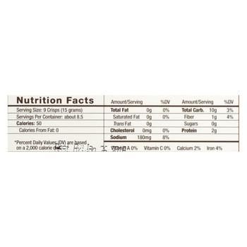 34 Degrees - Crisps Whole Grain - Case of 18-4.5 oz