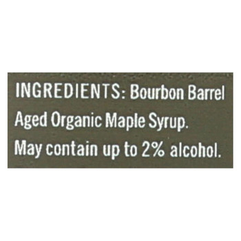 Crown Maple Syrup - Bourbon Barrel Aged - Case of 8 - 8.5 fl oz.