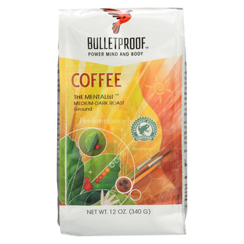 Bulletproof Coffee - The Mentalist Ground - Case of 6 - 12 oz.