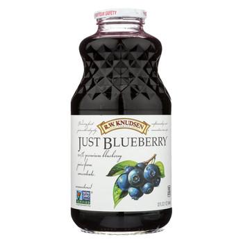 R.W. Knudsen - Juice - Just Blueberry - Case of 6 - 32 fl oz