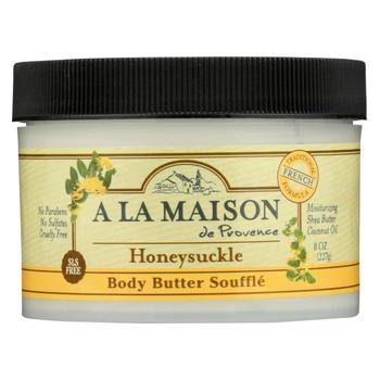 A La Maison - Body Butter Honeysuckle - 8 oz