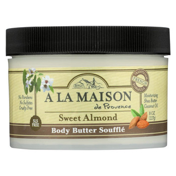 A La Maison - Body Butter Sweet Almond - 8 oz