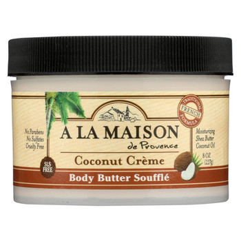 A La Maison - Body Butter Coconut Creme - 8 oz