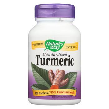 Nature's Way - Turmeric Standardized - 120 TAB