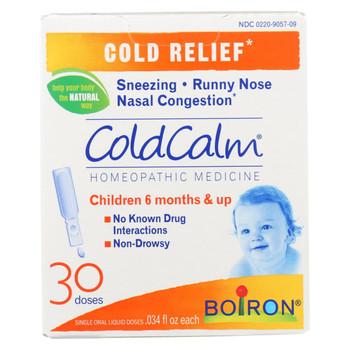 Boiron Coldcalm - Liquid - 30 Dose - 30 DOSE