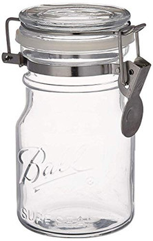 Ball Canning Jar - Wire Bale - Storage - Case of 6 - 14 oz