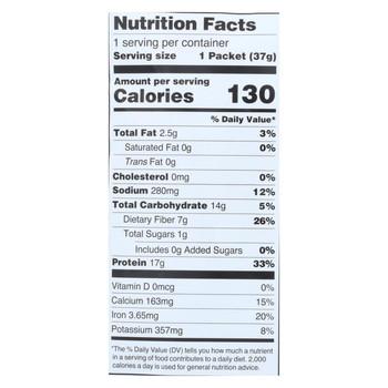 Kuli Kuli Moringa Greens and Protein Powder - Dark Chocolate - 12 ct 1.3 oz packet