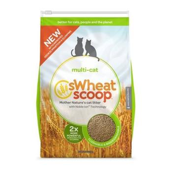 Swheat Scoop Cat Litter - Multi Cat - Case of 1 - 12 lb.
