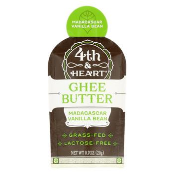 4th and Heart - Ghee - Madagascar Vanilla - Single - Case of 5 - 0.7 oz.