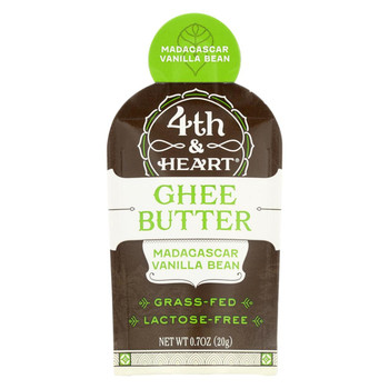 4th and Heart - Ghee - Madagascar Vanilla - Single - Case of 5 - 0.7 oz.