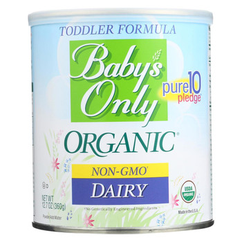 Baby's Only Organic Toddler Formula - 12.7 oz
