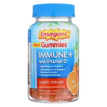 Emergen-C Gummies - Immune - Orange - 45 count