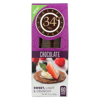 34 Degrees - Crisps - Chocolate - Case of 18 - 5 oz.