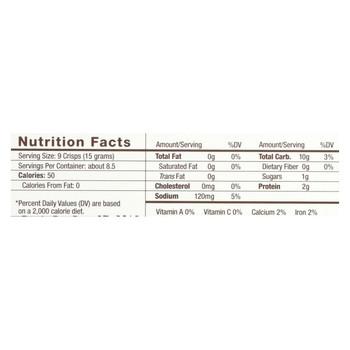 34 Degrees - Crisps Toasted Onion - Case of 18-4.5 oz