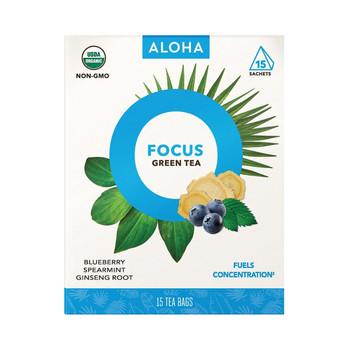 Aloha (Tea) Tea - Organic - Focus - Case of 6 - 15 BAG