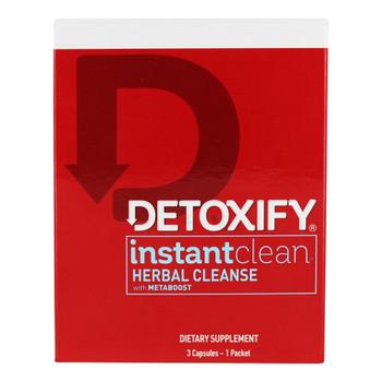 Detoxify - Cleanse Instant Clean - EA of 1-3 CAP