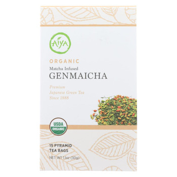 Aiya Tea Organic - Case Of 6 - 15 Bag