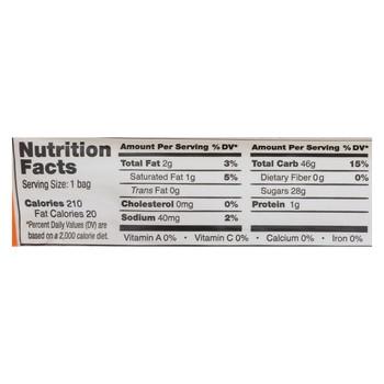 Yumearth Organics Organic Licorice - Peach - Case of 12 - 2 oz