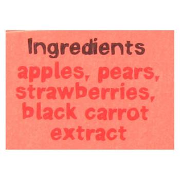 Bear Real Fruit Yoyos - Strawberry - Case of 6 - 3.5 oz.