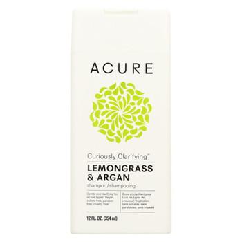 Acure - Shampoo - Curiously Clarifyng - 12 fl oz