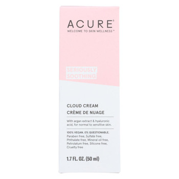 Acure Cream - Soothing - Cloud - 1.7 fl oz