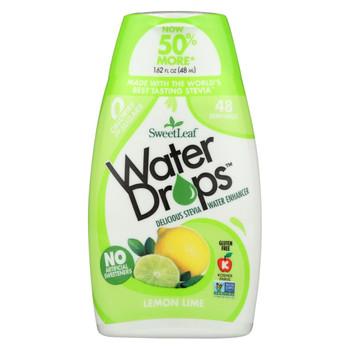 Sweet Leaf Water Drops - Lemon Lime - 1.62 fl oz