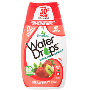 Sweet Leaf Water Drops - Strawberry Kiwi - 1.62 fl oz