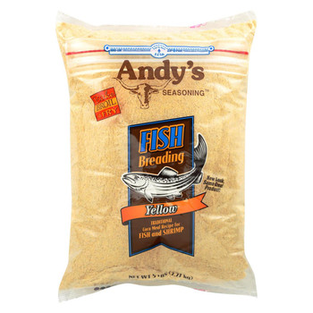 andys Breading - Yellow Fish - Case of 6 - 5 lb.
