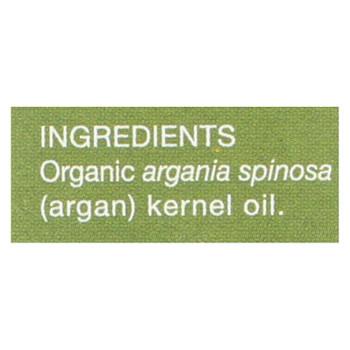 Aura Cacia Oil - Organic - Argan - Case of 3 - 1 fl oz