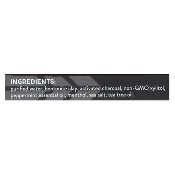 Redmond Life Earthpaste - Peppermint Charcoal - 4 oz